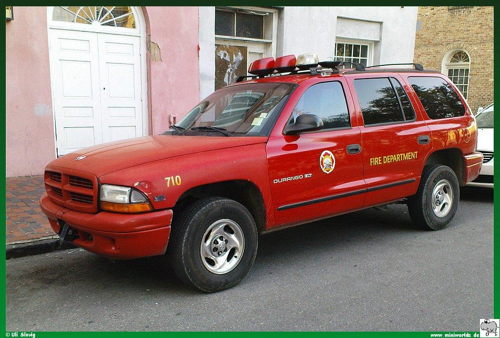 Feuerwehr Neworleans Dodge on Dodge Durango Fire