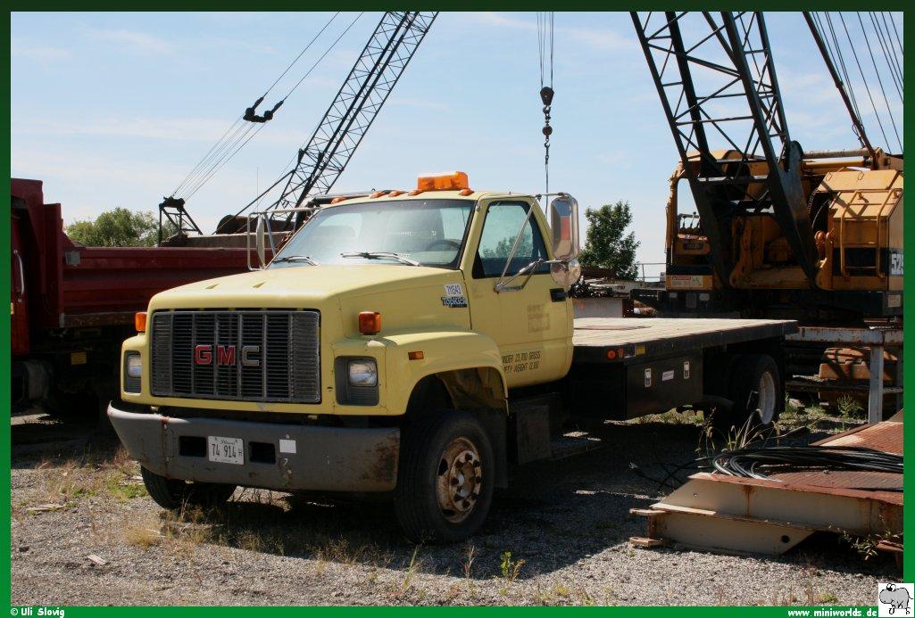 2000 gmc c7500 topkick box truck  2000  free engine image